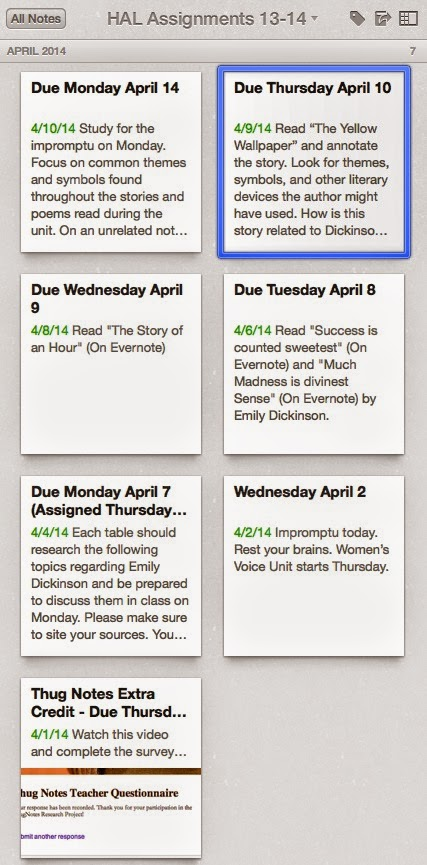 The Nerdy Teacher: The Epic Evernote Experiment