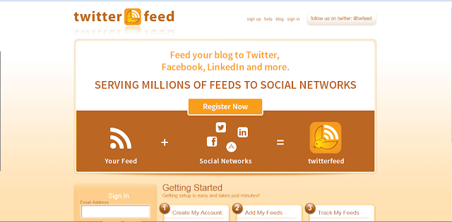 Twitterfeed - automatyczna publikacja postów