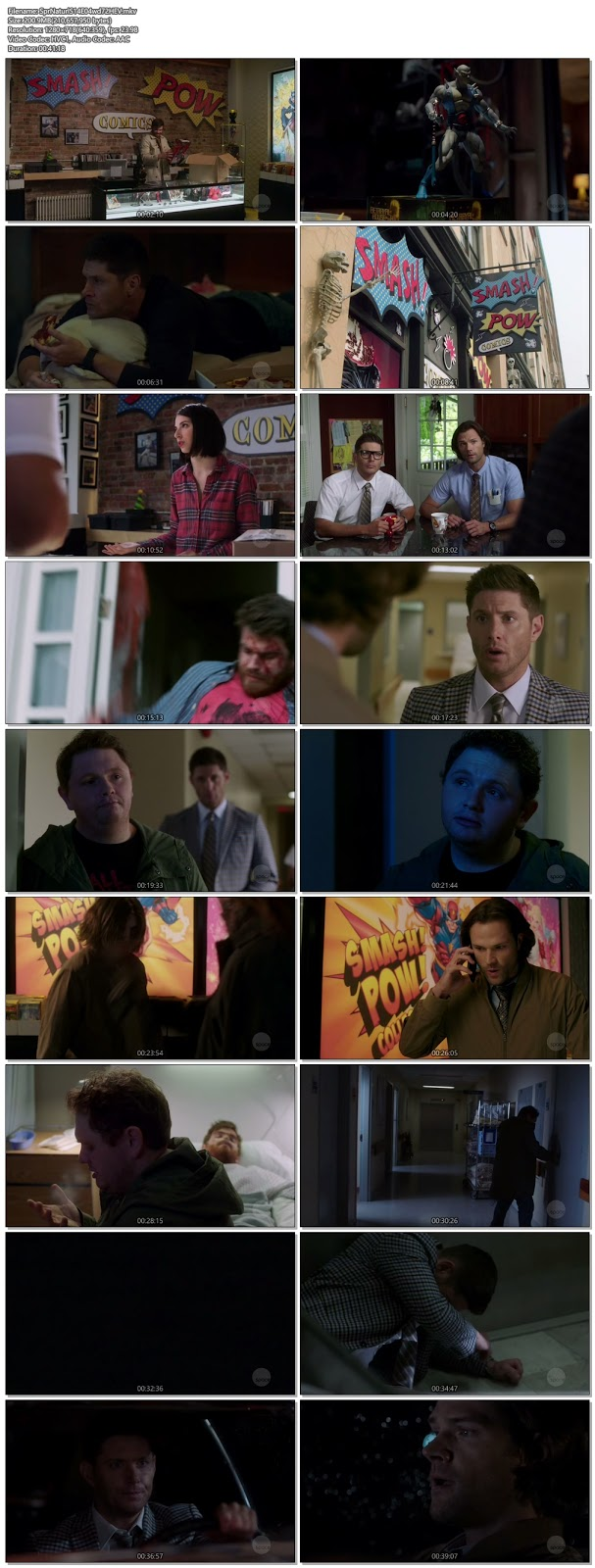 Supernatural S14 Episode 04 720p HDTV 200MB ESub x265 HEVC , hollwood tv series Supernatural S14 Episode 01 720p hdtv tv show hevc x265 hdrip 200mb 250mb free download or watch online at world4ufree.vip
