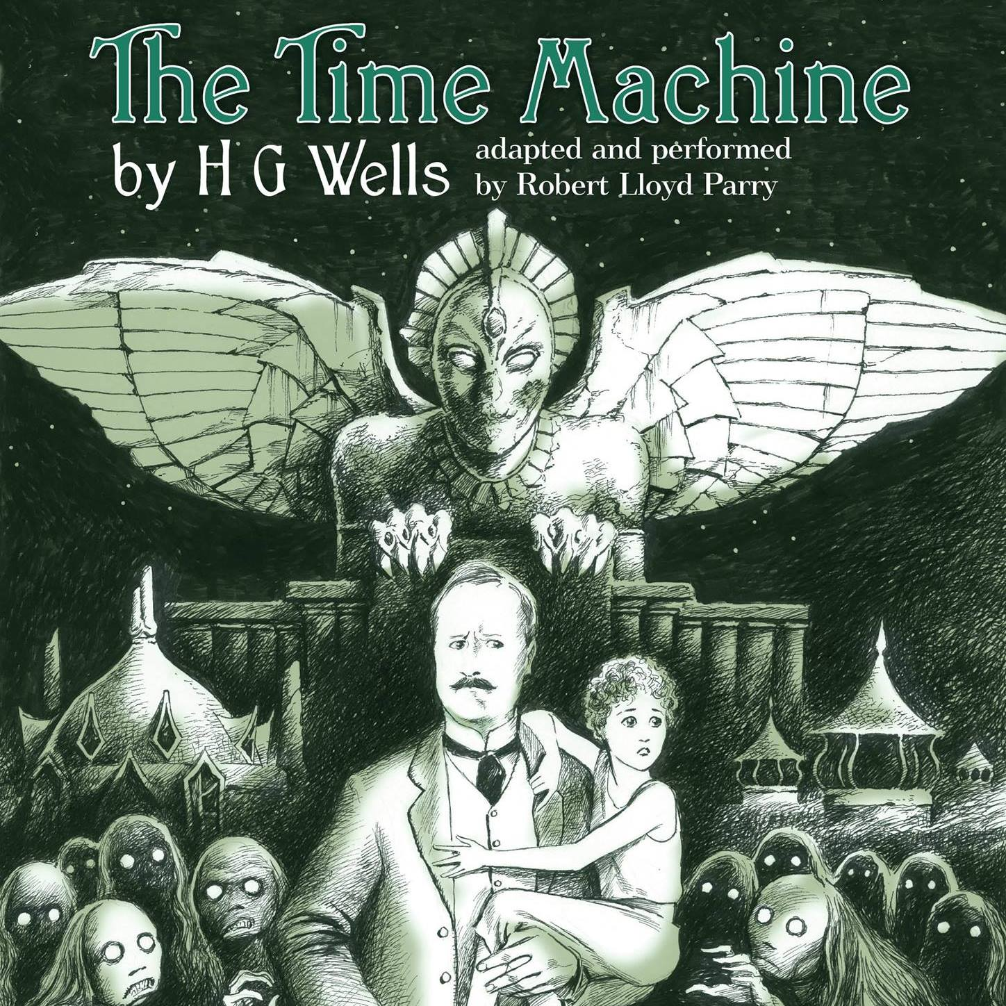 a peek of the future in the time machine by h g wells