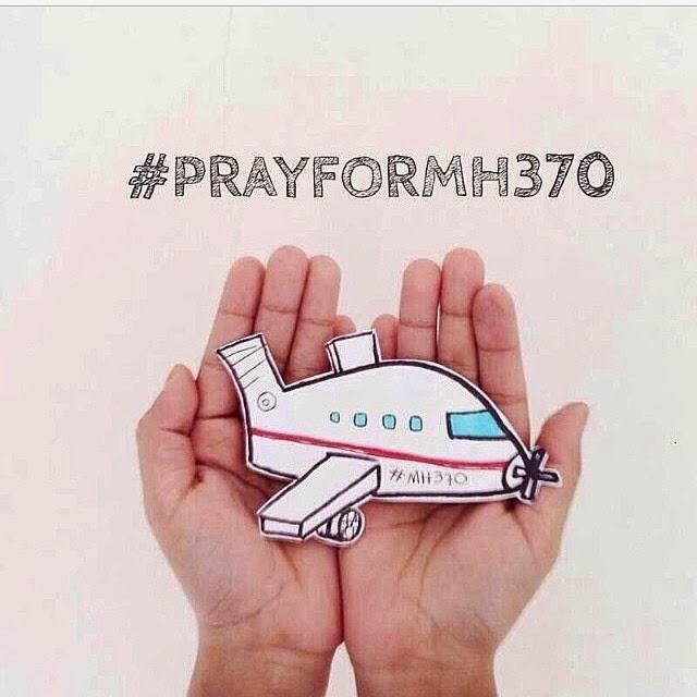 Malaysia Airlines MH 370 (Boeing 777) - Pray for MH370 #prayforMH370 #doakanMH370