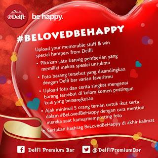 Info Pemenang - Pemenang #BeLovedBeHappy periode 4