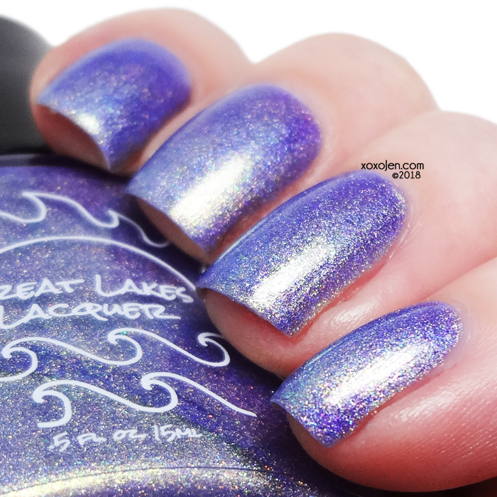 xoxoJen's swatch of Great Lakes Lacquer Can't Sleep Clowns Will Eat Me