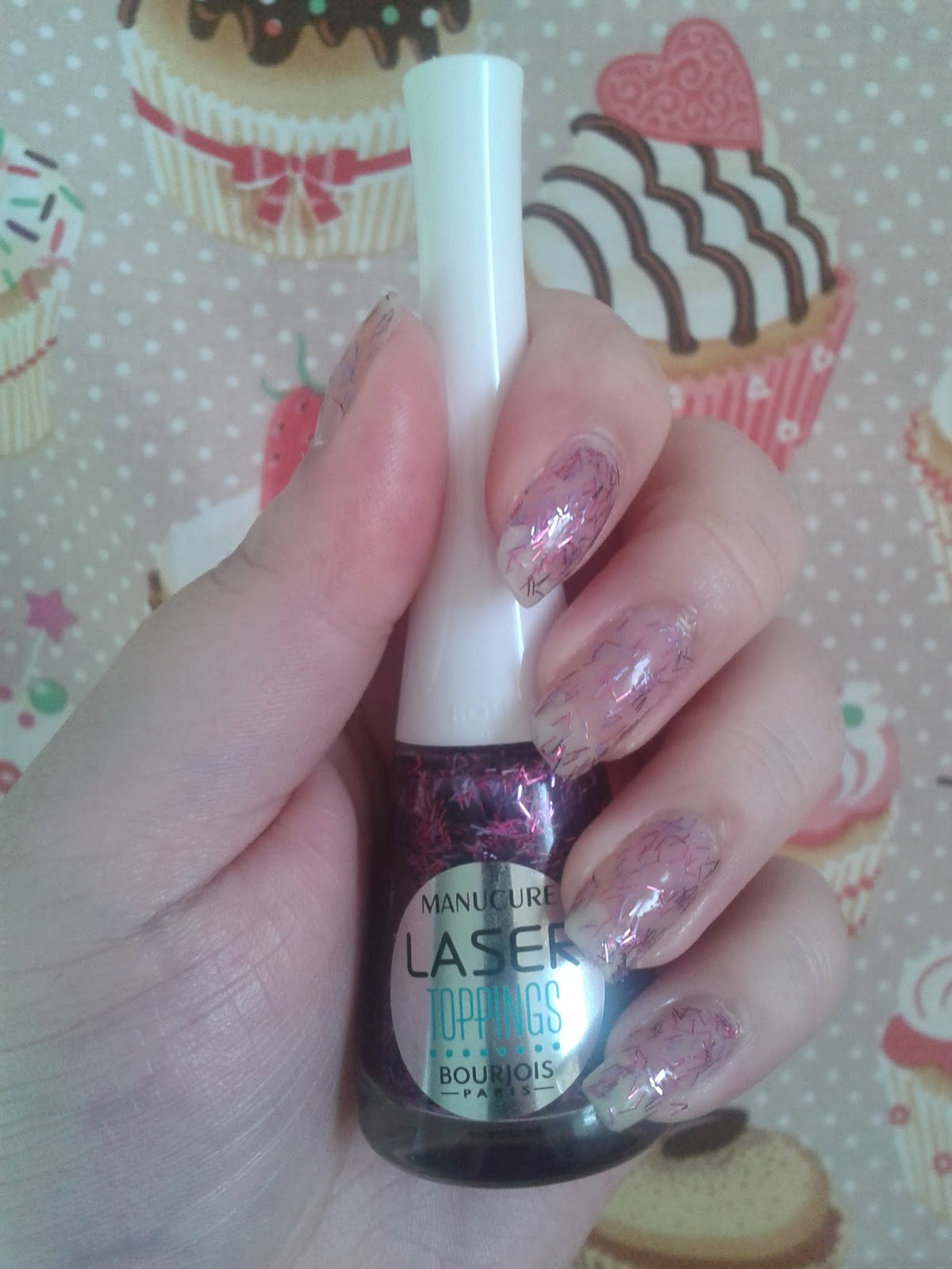 Test Laser Topping Aqua purple de Bourjois