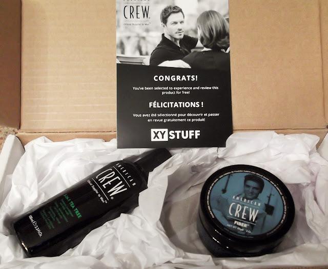 American Crew Product Box