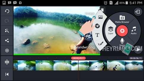 Cara Menambahkan Logo di Video Android
