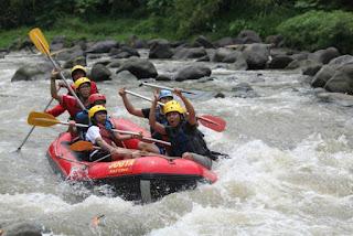 rafting Sungai Elo Magelang