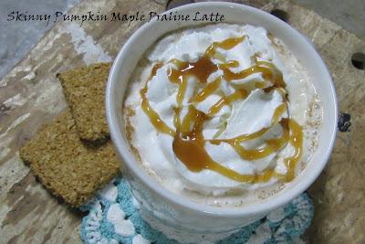 Skinny Pumpkin Maple Praline Latte