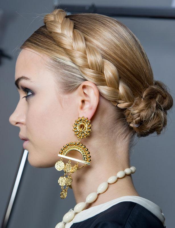 Cómo conseguir un peinados diadema Fotos de cortes de pelo tendencias - Modela tu Cabello: Peinados de moda con Trenza diadema 2014