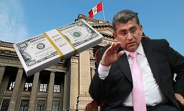 """Juez Ríos pidió """"10 verdecitos"""""""