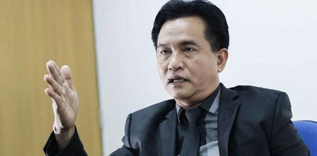 Yusril Ihza Mahendra: Kami Tidak Akan Mendukung Jokowi, Kalau Calon Tunggal Pilih Kotak Kosong