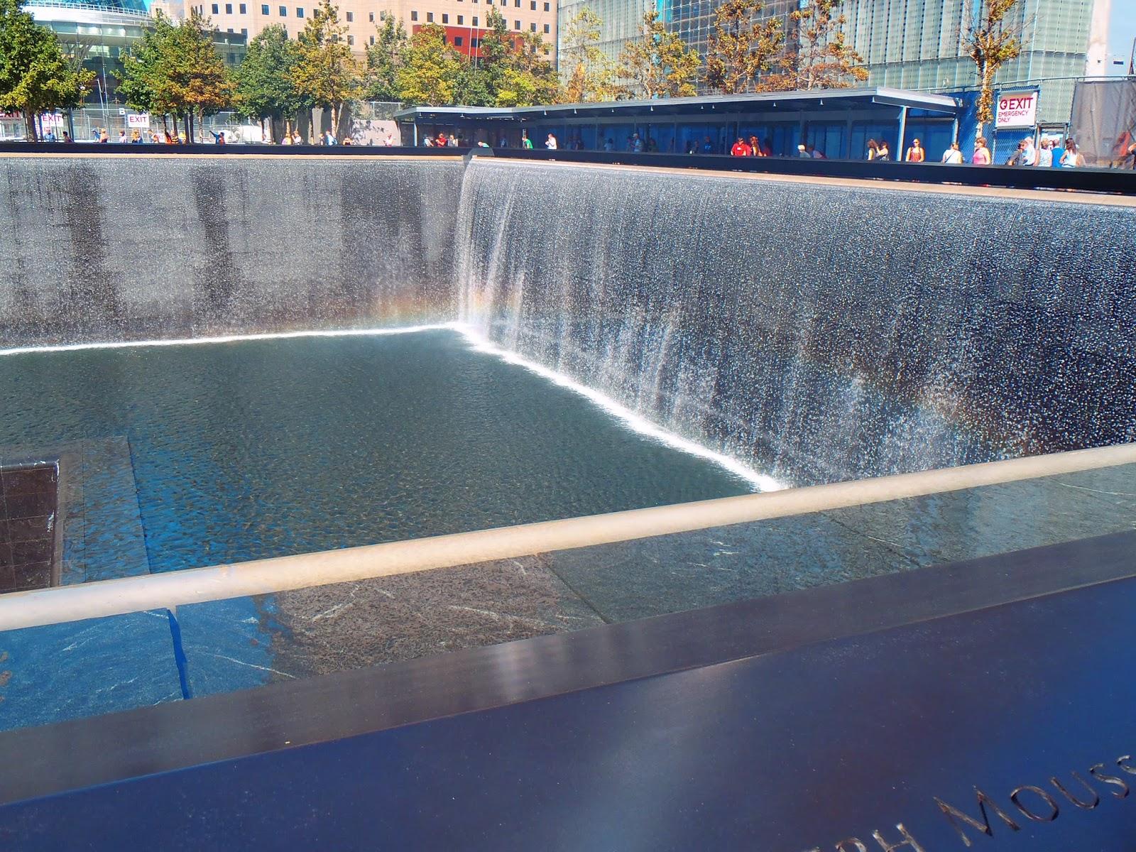 Reflective pools at 9/11 Memorial