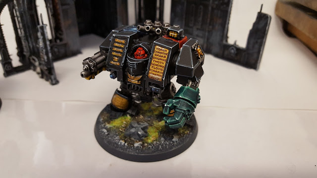 space marine field police judge dreadnought