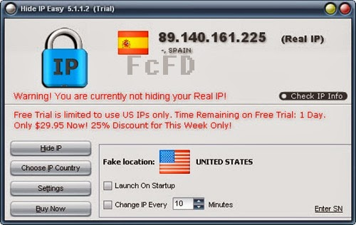 Free IP Address changer Hide IP Easy