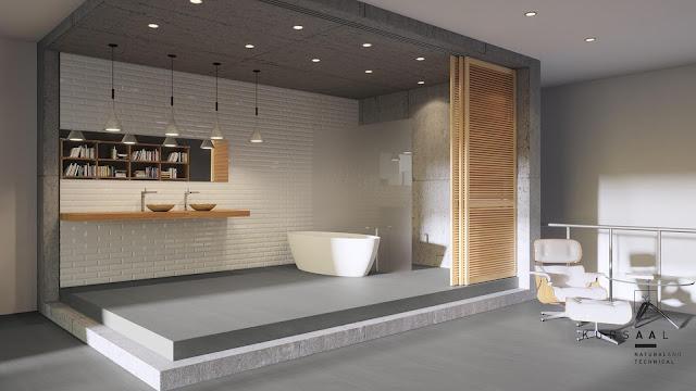 Outside floor tiles design Kursaal series for bedrooms and bathrooms