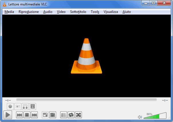 VLC interfaccia grafica