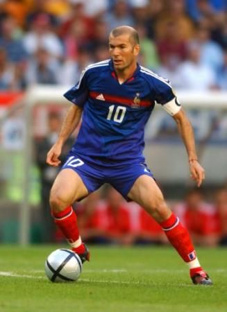 Zidane Soccer Player Number