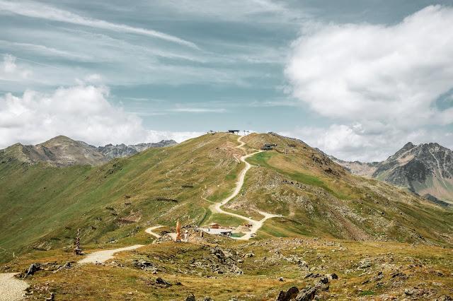 Alpenrosensteig vom Fisser Joch nach Fiss  Wanderung Serfaus-Fiss-Ladis 11