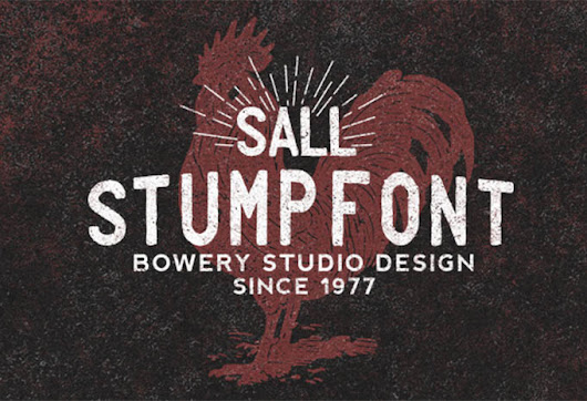 15 Free and Premium Vintage Retro Fonts Typography - YandiDesigns