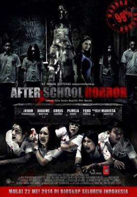Poster Film After School Horror