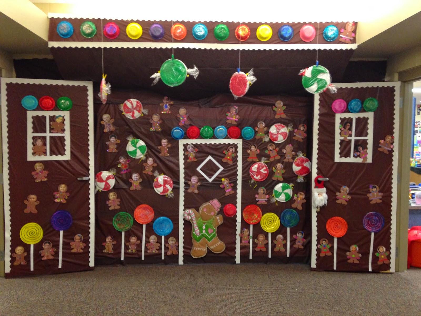 Gingerbread Door & Image Detail For -Holiday Door Contest ...