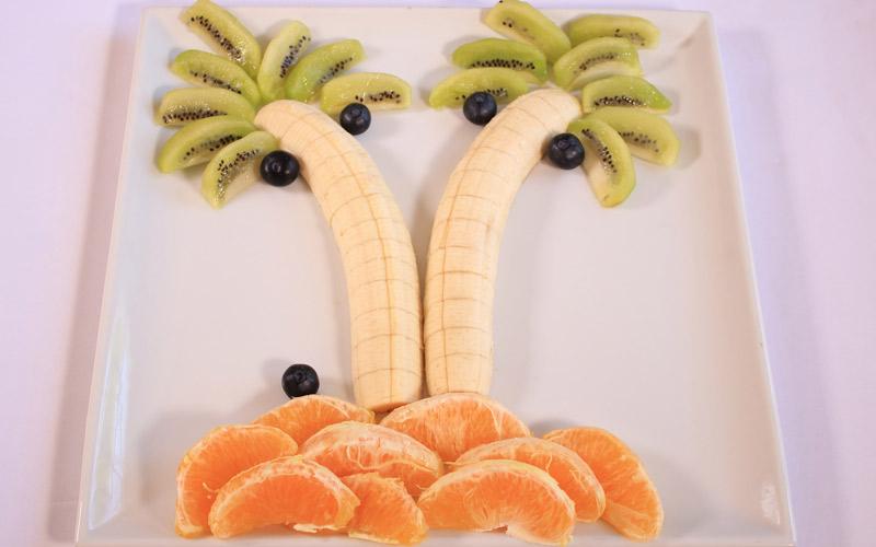 Palmeras de frutas | POSTRES DIVERTIDOS