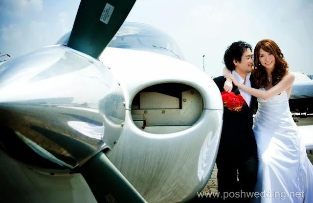 subang airport photoshoot bride