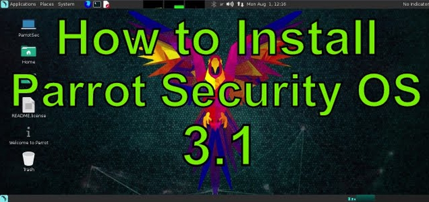 How to Install Parrot Security OS 3 1 (ParrotSec) on VMware
