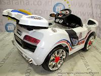 Mobil Mainan Aki Pliko PK2858N Audi Transparan L
