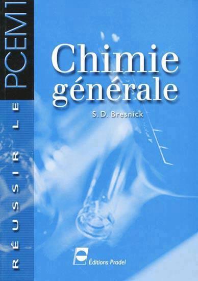 Télécharger  : Chimie Générale (PCEM1)