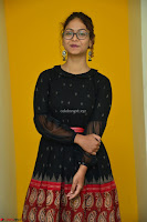 Aditi Myakal in Spicy Red Short Skirt and Transparent Black Top at at Big FM For Promotion of Movie Ami Tumi 071.JPG