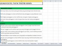 Aplikasi Tata Tertib Sekolah Format Excel