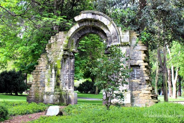 foto del arco del parque san francisco