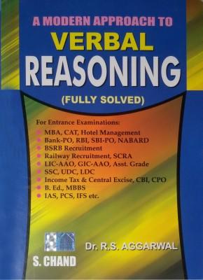 Free Download R S Agarwal A Modern Approach To Verbal Reasoning Pdf
