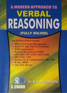 Free Download R S Agarwal A Modern Approach To Verbal Reasoning PDF