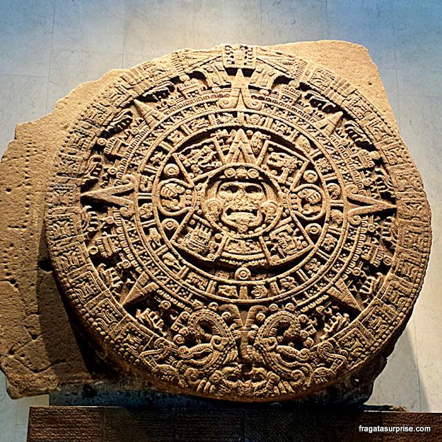 Calendário Asteca, Museu de Antropologia do México