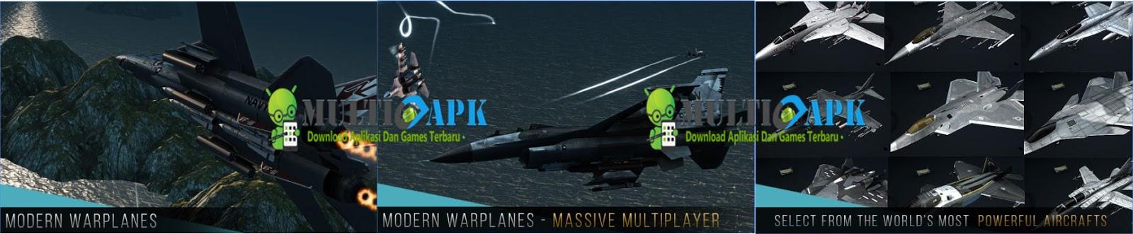 Modern Warplanes Apk Mod 1.5 Free Shopping