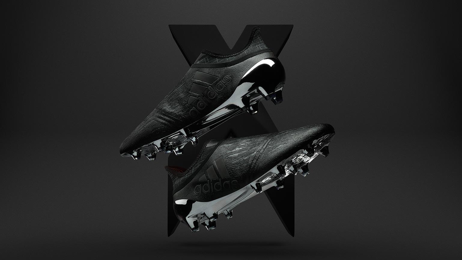 Blackout Adidas X 16+ Purechaos 201617 Dark Space Pack