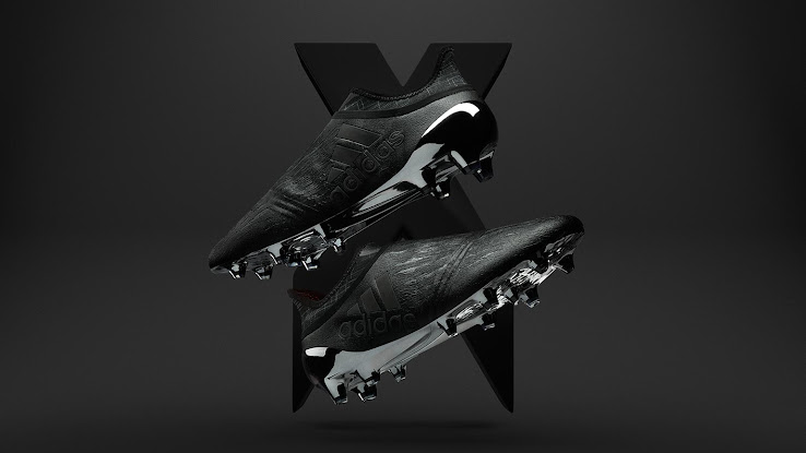 fb413951e8dc1 Blackout Adidas X 16+ Purechaos 2016-17 Dark Space Pack Boots Released