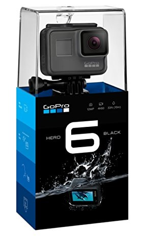Best Waterproof Vlogging Camera - GoPro Hero 6