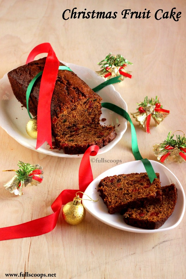 Christmas Fruit Cake Most Recipes With Coffee