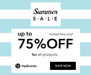 كوبون خصم بقيمة 15% على كل المنتجات لفتره محدوده مع VipBrands