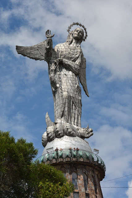 Virgin of Quito aluminuim