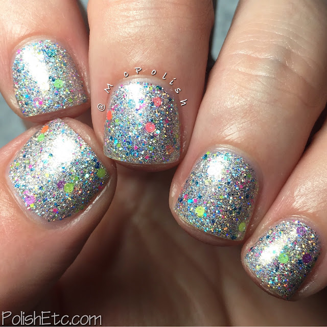 Glam Polish - Friendship is Sparkly Trio Part 2 - McPolish- Sonic Boom