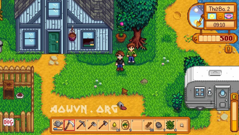 Stardew%2BValley AowVN.org min%2B%25288%2529 - [ Update 1.3 ] Stardew Valley Việt Hóa Full + Mod Anime | PC - Game Nông Trại Offline tuyệt hay