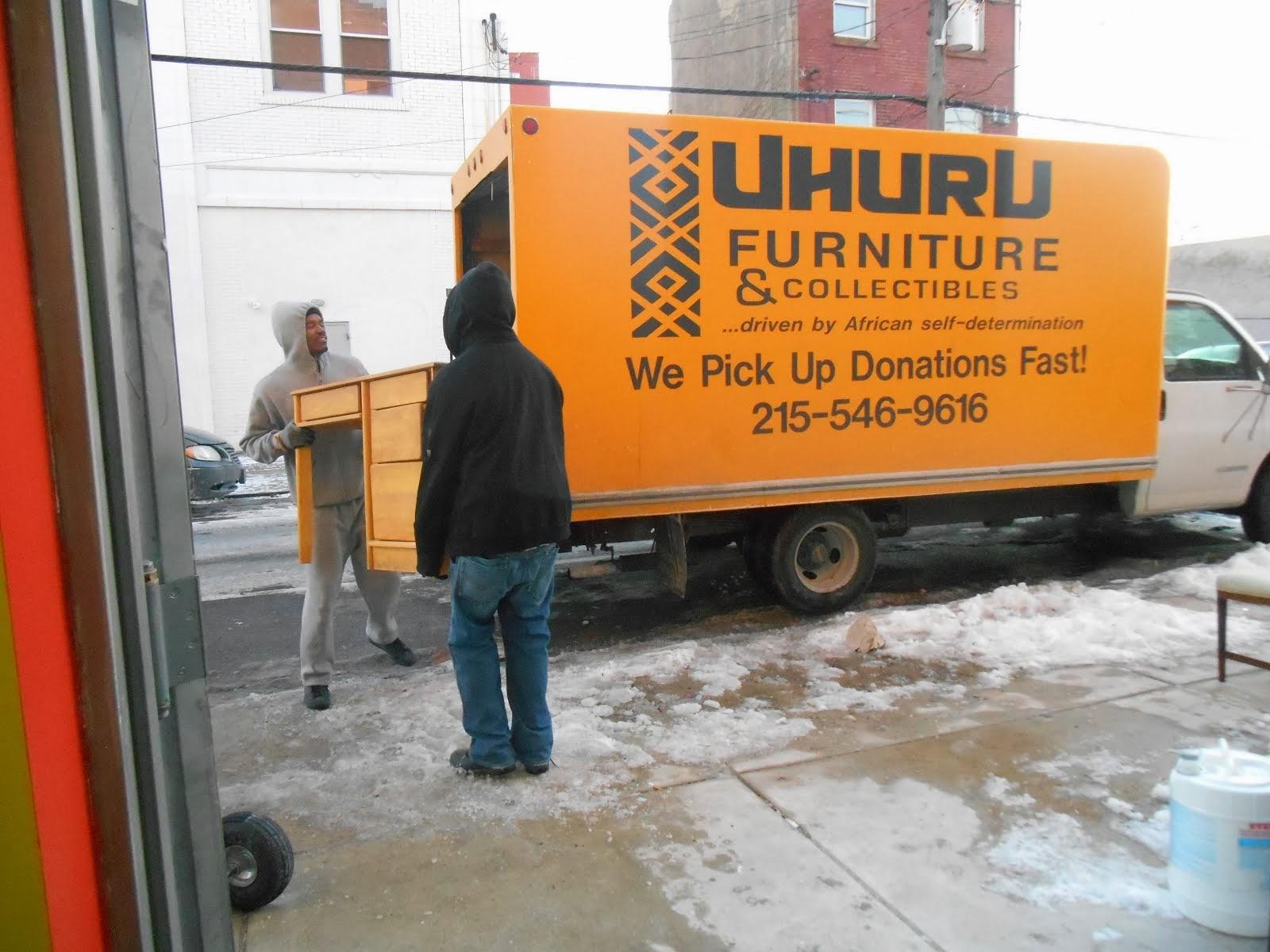 Uhuru Furniture  Collectibles Donate