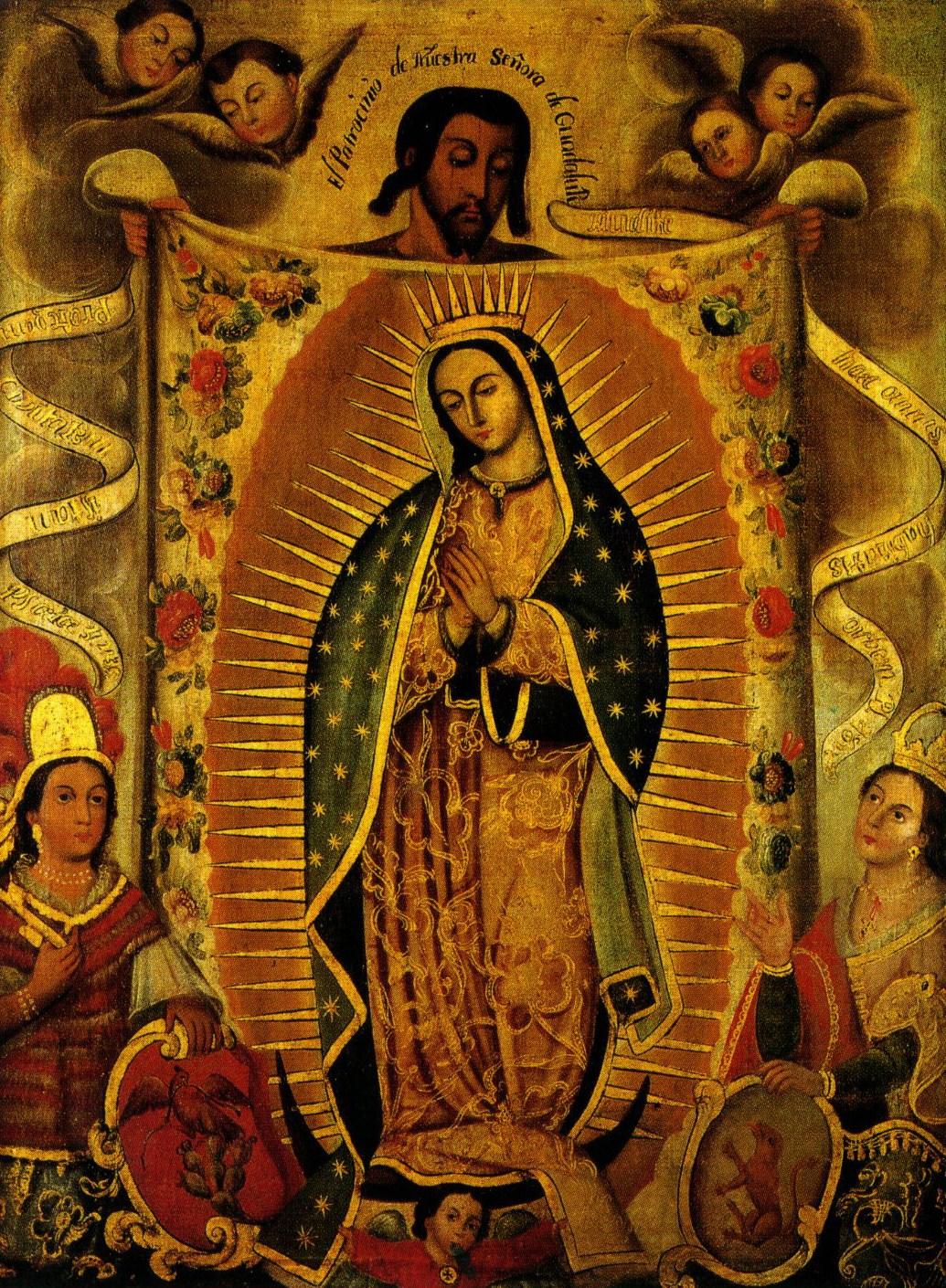 Juan Diego Y La Virgen De Guadalupe >> Ŧhe ₵oincidental Ðandy: La Reina de México y Emperatriz de América