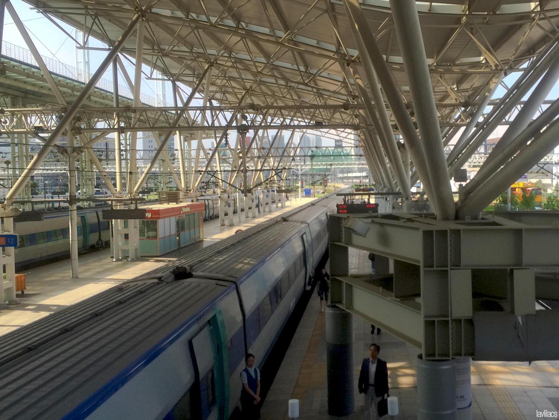 Seoul, Korea - Summer Study Abroad 2014 - Seoul Station Korail Seoul to Busan