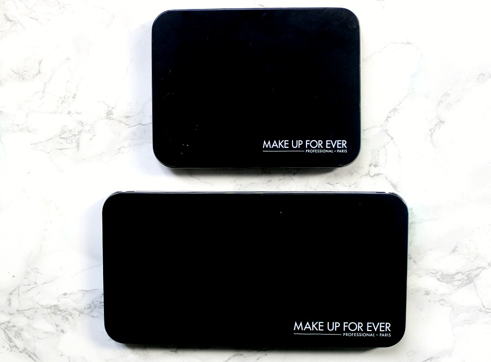 MUFE Empty Metal Palettes in Medium and Large review