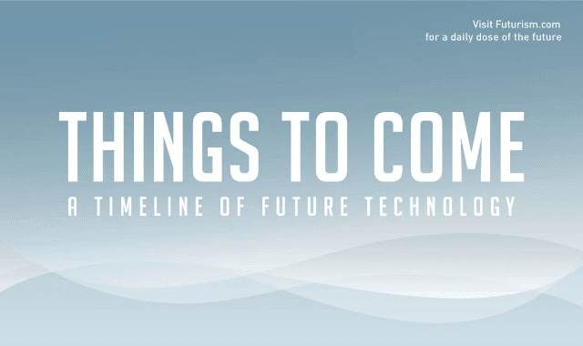 Things To Come: A Timeline Of Future Technology